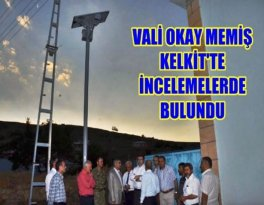 Güneş Enerjili Sokak Aydınlatması Projsini De İnceledi