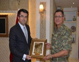 Jandarma Genel Komutan Yardımcısı Korgeneral İbrahim Yaşar Gümüşhane'de