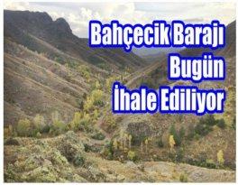Gümüşhane'nin Cansuyu Barajı İçin Tarihi Gün