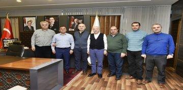 TOKİ HEYETİ, GÜMÜŞHANE'DE 528 KONUT'UN YAPILACAĞI ALANI İNCELEDİ