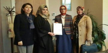 AK Parti Torul İlçe Kadın Kolları Başkanlığına Fidan Kaya Atandı