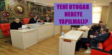 GÜMÜŞHANE İL GENEL MECLİSİ'NDE DE YENİ OTOGAR'IN YERİ KONUŞULDU