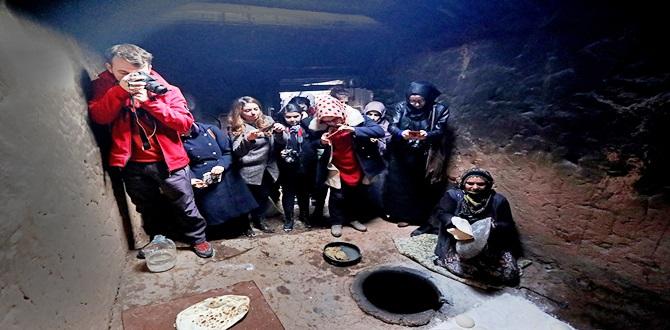 """Genç Fotoğrafçıların """"Tandır""""la İmtihanı"""