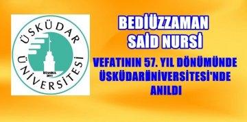 """Prof.Dr. Nevzat Tarhan: """"Bediüzzaman Çağın Mevlanasıdır"""""""