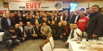"""İSTANBUL GÜMÜŞHANELİLER DERNEĞİ """"EVET""""DEDİ"""