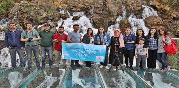Genç Kursiyerler Tomara Şelalesine Hayran Kaldılar