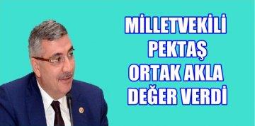 """MİLLETVEKİLİ PEKTAŞ """"ATATÜRK PARKI"""" KRİZİNİ KISA SÜREDE ÇÖZDÜ"""