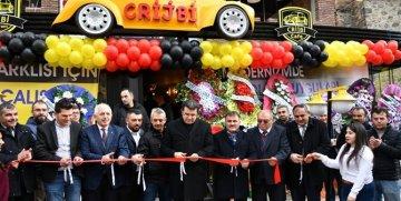 """GÜMÜŞHANE'DE YENİ SOSYAL MEKAN """"CRİJBİ  KAFE"""" BUGÜN AÇILDI"""