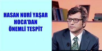 PROF.DR. HASAN NURİ YAŞAR'IN EĞİTİMLE İLGİLİ ÖNEMLİ PAYLAŞIMI