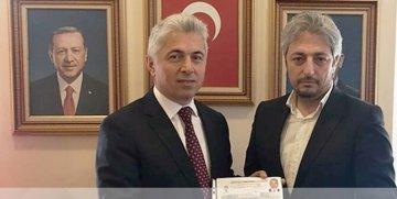 Gümüşhane Üniversitesi Eski Rektörü İhsan Günaydın AK Parti'den Milletvekilliği Müracatını Yaptı