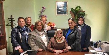 KENT KONSEYİ KADIN MECLİSİ'NDEN GÜMÜŞHANE'NİN İLK KADIN MÜFTÜ YARDIMCISI'NA ZİYARET
