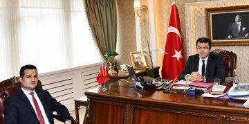 ŞİRAN'A ATANAN KAYMAKAM VEKİLİ OSMAN OĞUZ EKŞİ GÖREVE BAŞLADI