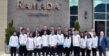 Otelcilik ve Turizm Öğrencileri RAMADA ile çalışacak