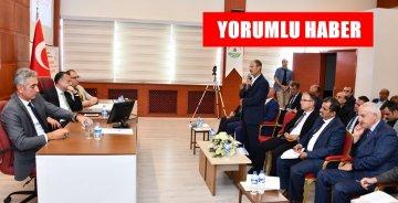 TARIM ŞURASI ÖNCESİ GÜMÜŞHANE'DE DE TOPLANTI YAPILDI