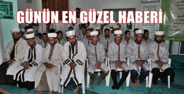 Diyanet'in Afrin'de açtığı Hafızlık Merkezi'nde 50 Öğrenci Hafız Oldu