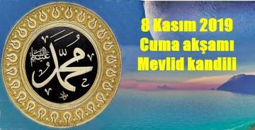 MEVLİD KANDİLİNE 3 GÜN KALDI