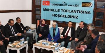 VALİ TAŞBİLEK 6. MAHALLE TOPLANTISINI SÜLEYMANİYE'DE YAPTI