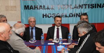 KARAER MAHALLESİ TOPLANTISINDA BU SORUNLAR KONUŞULDU