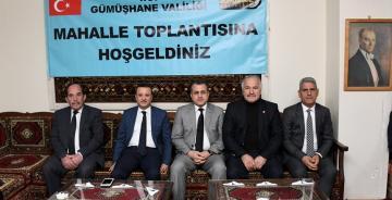 VALİ TAŞBİLEK, 8. TOPLANTISINI ÖZCAN MAHALLESİNDE YAPTI