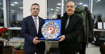 Rektör Yardımcısı Bahri Bayram Erzurum'a Gidiyor