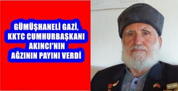 GÜMÜŞHANELİ KIBRIS GAZİSİ ARMAĞAN'DAN MUSTAFA AKINCIYA SERT TEPKİ