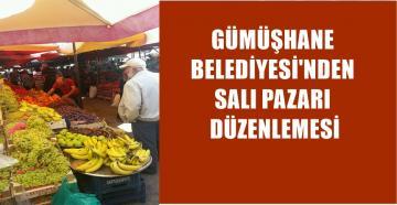 GÜMÜŞHANE'DE SALI PAZARINA KORONAVİRÜS DÜZENLEMESİ