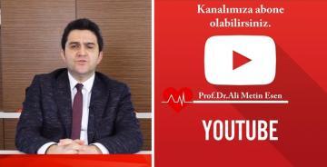 GÜMÜŞHANELİ ÜNLÜ KALP DOKTORU  PROF.DR. ALİ METİN ESEN'DEN MESAJ VAR