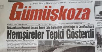 GÜMÜŞHANE'DE KORONAVİRÜS GÜNDEMİ