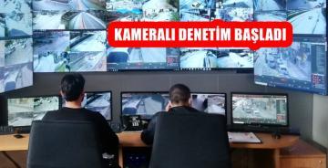 GÜMÜŞHANE'DE KAMERALI TRAFİK DENETİMİ BAŞLADI