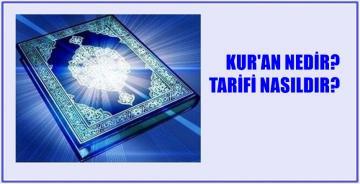 KUR'AN'IN EN KAPSAMLI TARİFİ